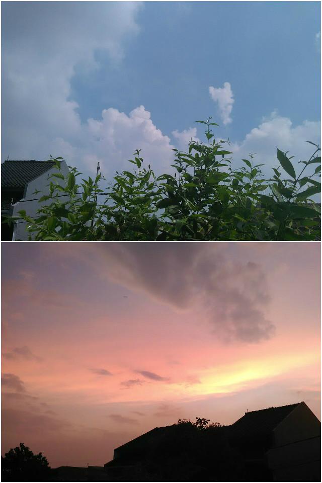 Hasil foto siang dan malam oleh Smartfren Andromax C3si